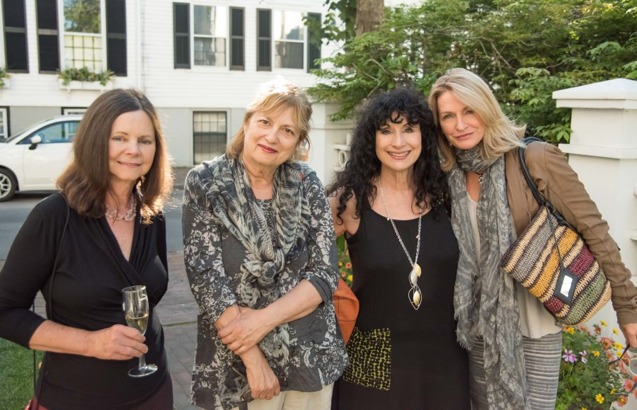 Diane Ackerman with other writers