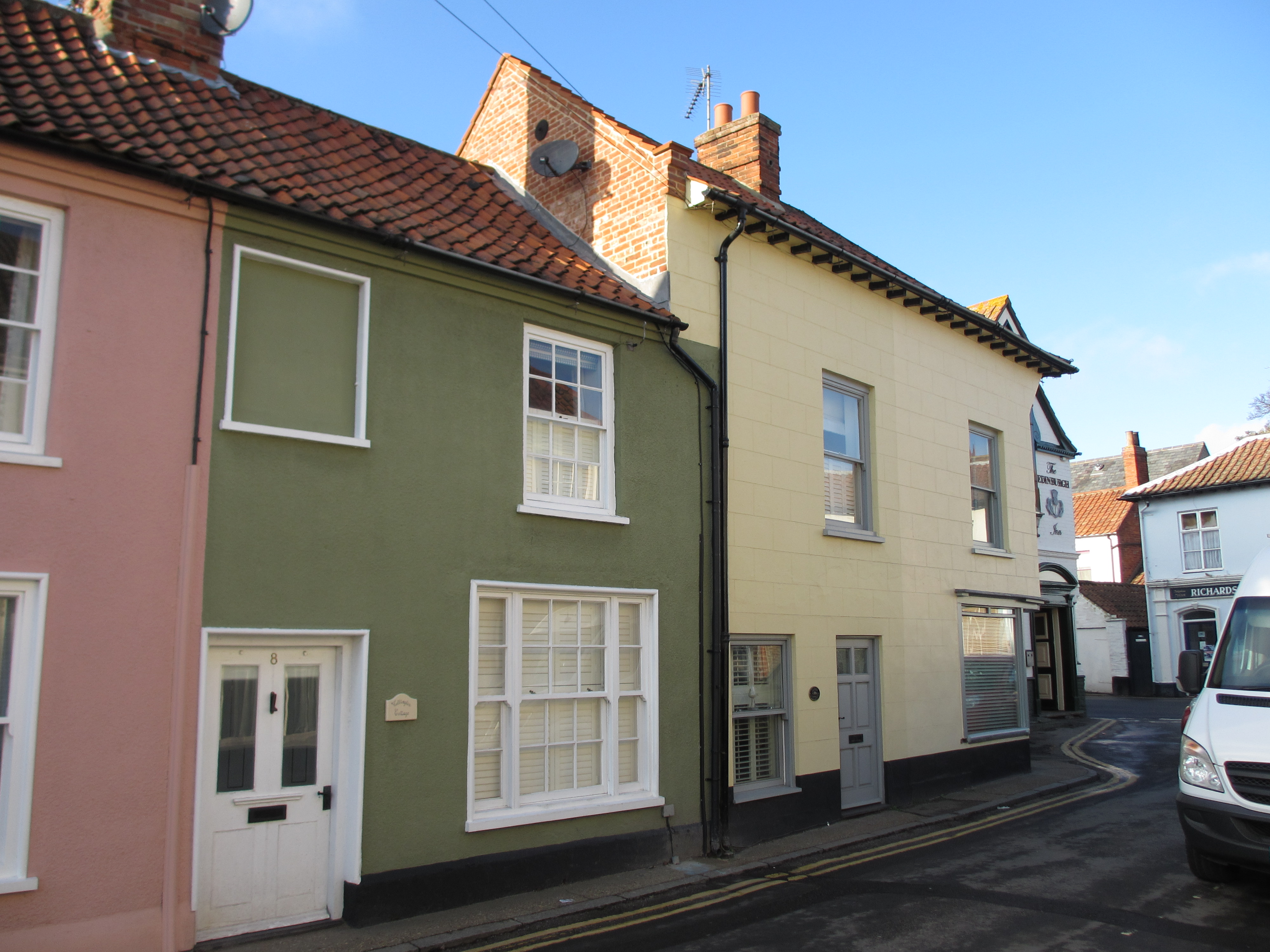 The High Street at Wells-next-the-Sea