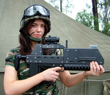 Outdoor Laser Combat, Derbyshi
