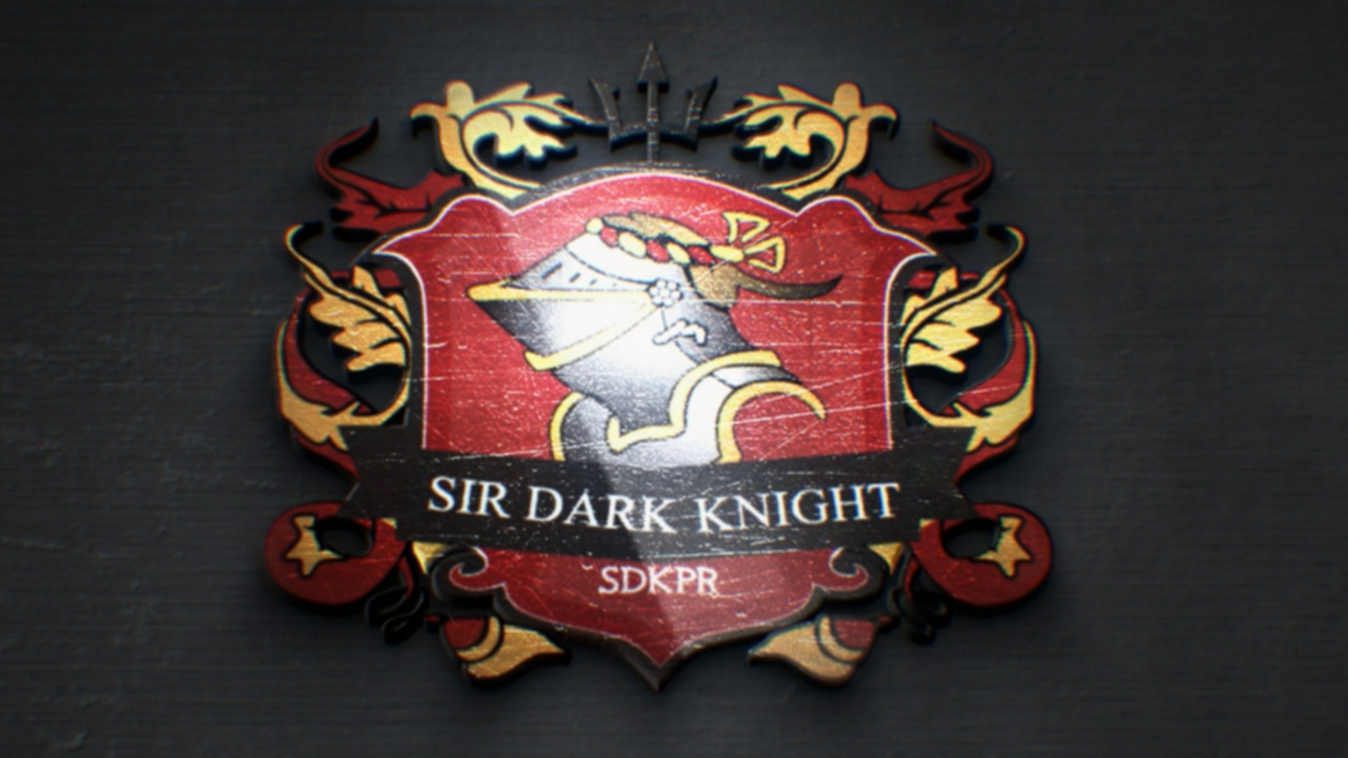 Sir Dark Knight Productions Shield coat of armslogo