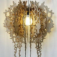 Emperor laser cut lighting