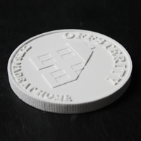 Offsterity 3d printed coins austerity
