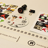 rethinkthings branding collateral stationery design