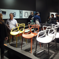 Starck graphics master chair milan milano ilsa parry