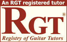 RGT registered guitar tutor