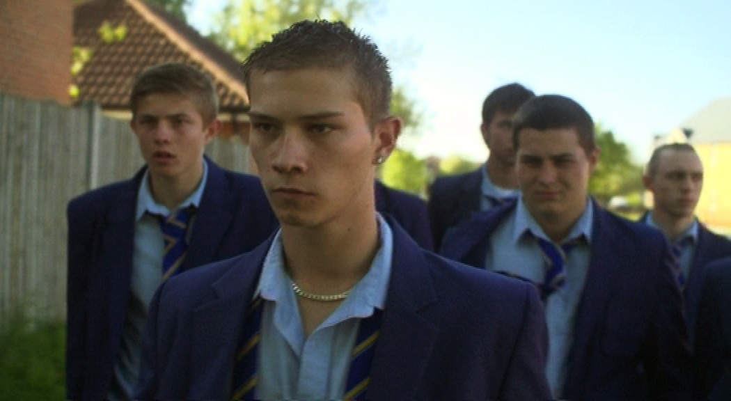 Deano and Bullies in a scene from the film, Angels vs Bullies
