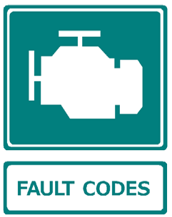 fault codes motor icon