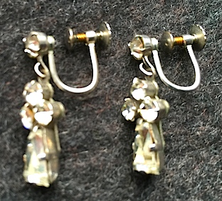 Art Deco Ear Rings