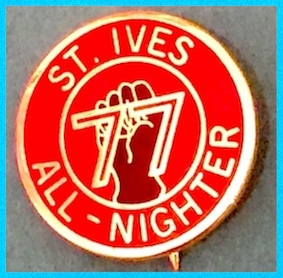 St Ives Badge