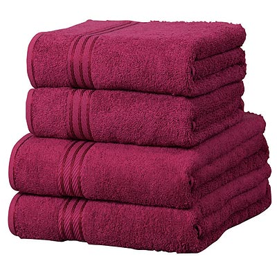 motorhome hire with towels