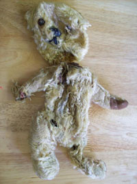 Teddy Bear Repair | Before