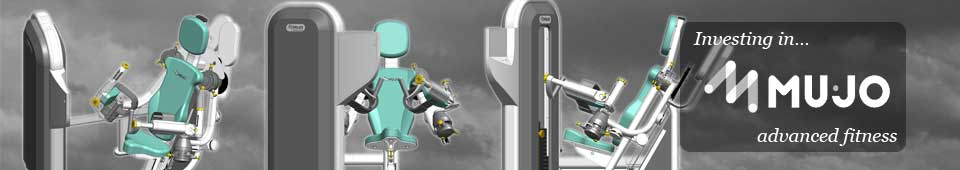 Mujo Fitness dual-axis fitness and rehabilitation machines