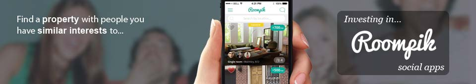 Roompik: find a property with people you have similar interest to