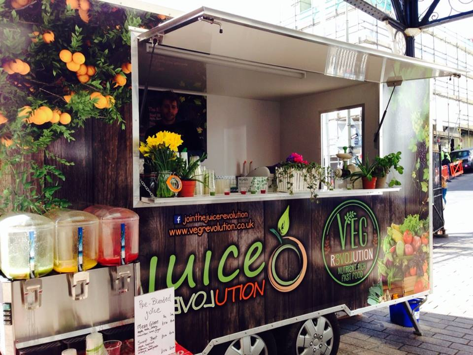 The best juice bars in brighton for Food truck juice bar