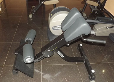lower back bench equipment