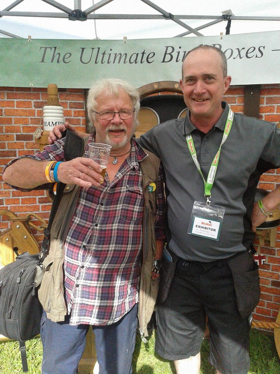 Bill Oddie,Bird box,out of the woodwork,simmo