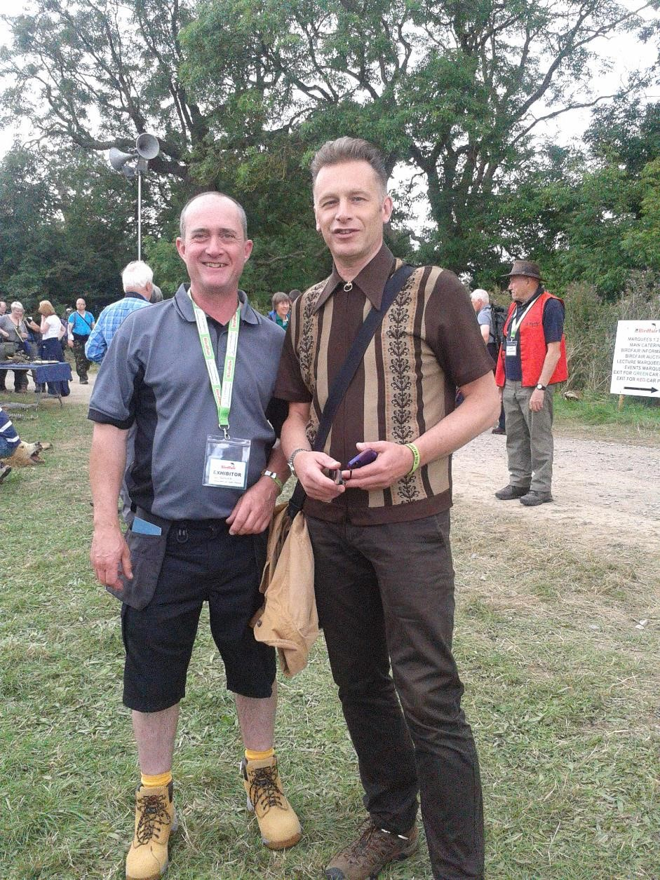 Chris Packham,out of the woodwork,bird box