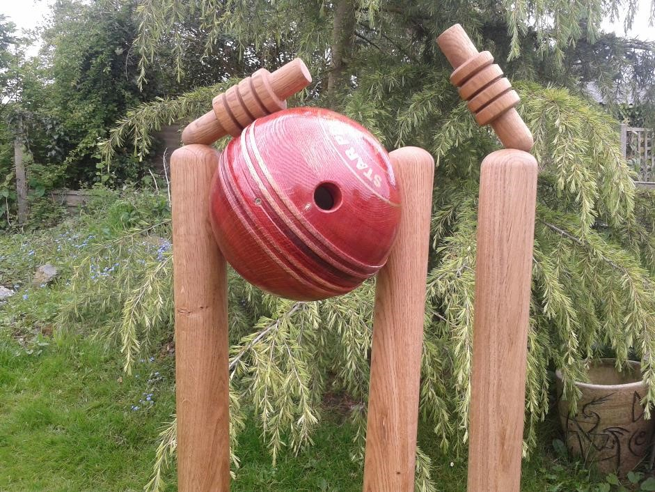 Cricket ball,bird box
