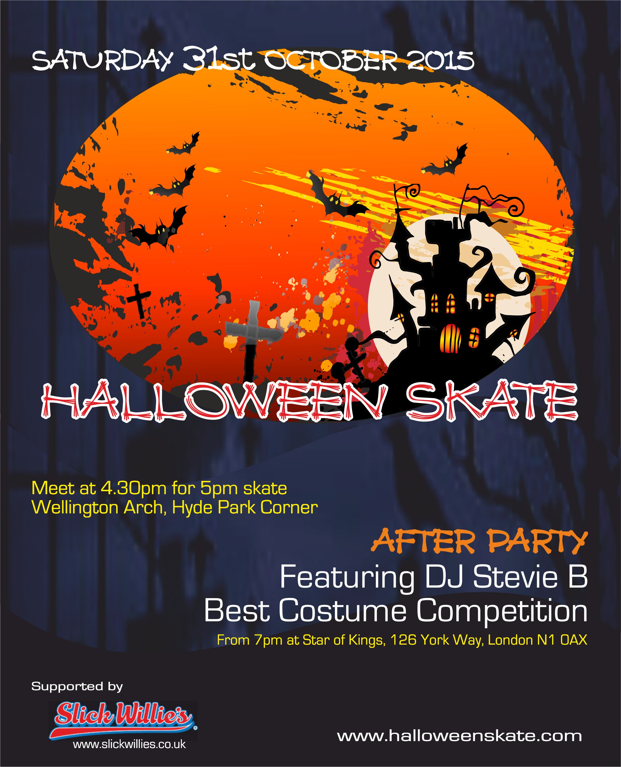 Halloween Skate London