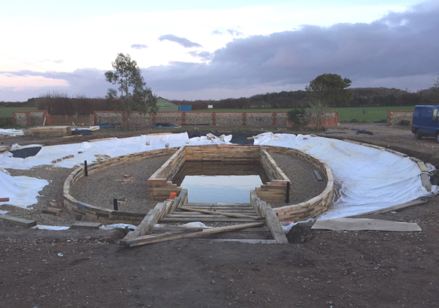 Swim pond natural swimming pool builders Natural swimming pool builders