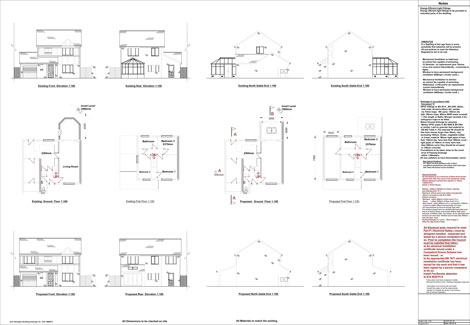 Home extension example plan 3  Home Extension Plans in Newcastle Build Plans. Over Garage Extension Ideas