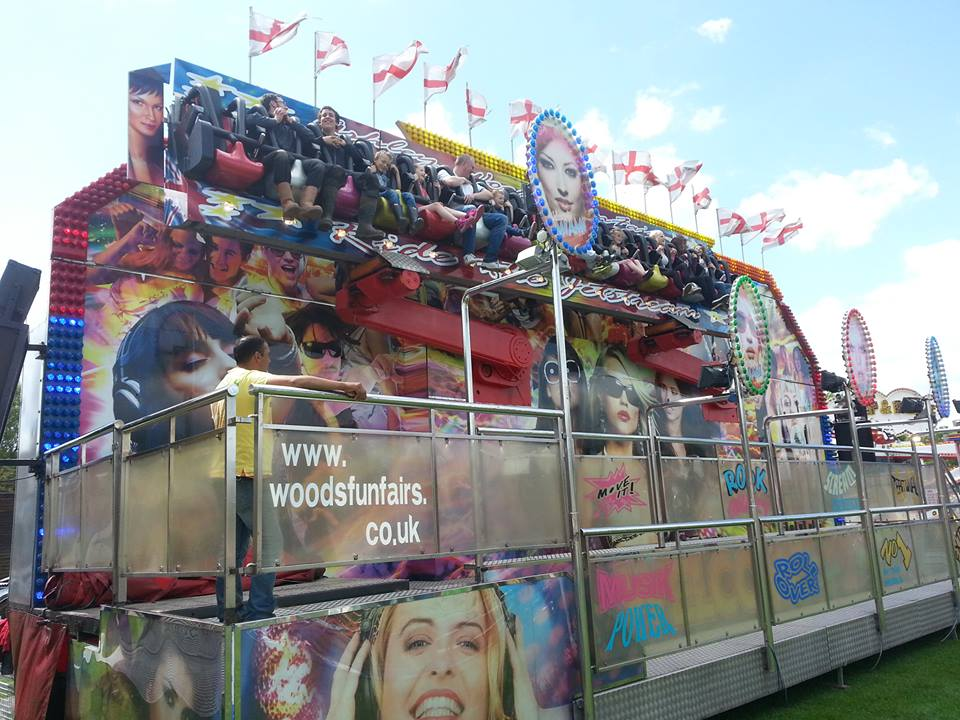 With a great sound system this thrill ride is one of the best examples in the UK