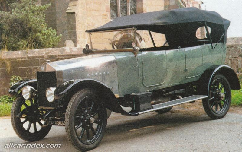 1918-1921 Turner chassised Varley Woods car circa 1918-21