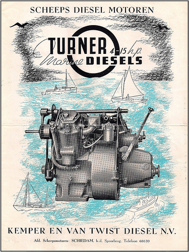 Dutch Turner engine advert
