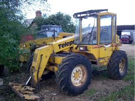 Used Telehandler telescopic Forklift reconditioned Parts