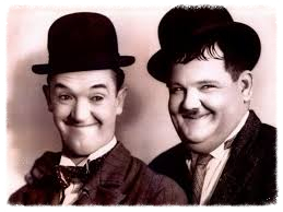 fusions of oneness, laurel and hardy