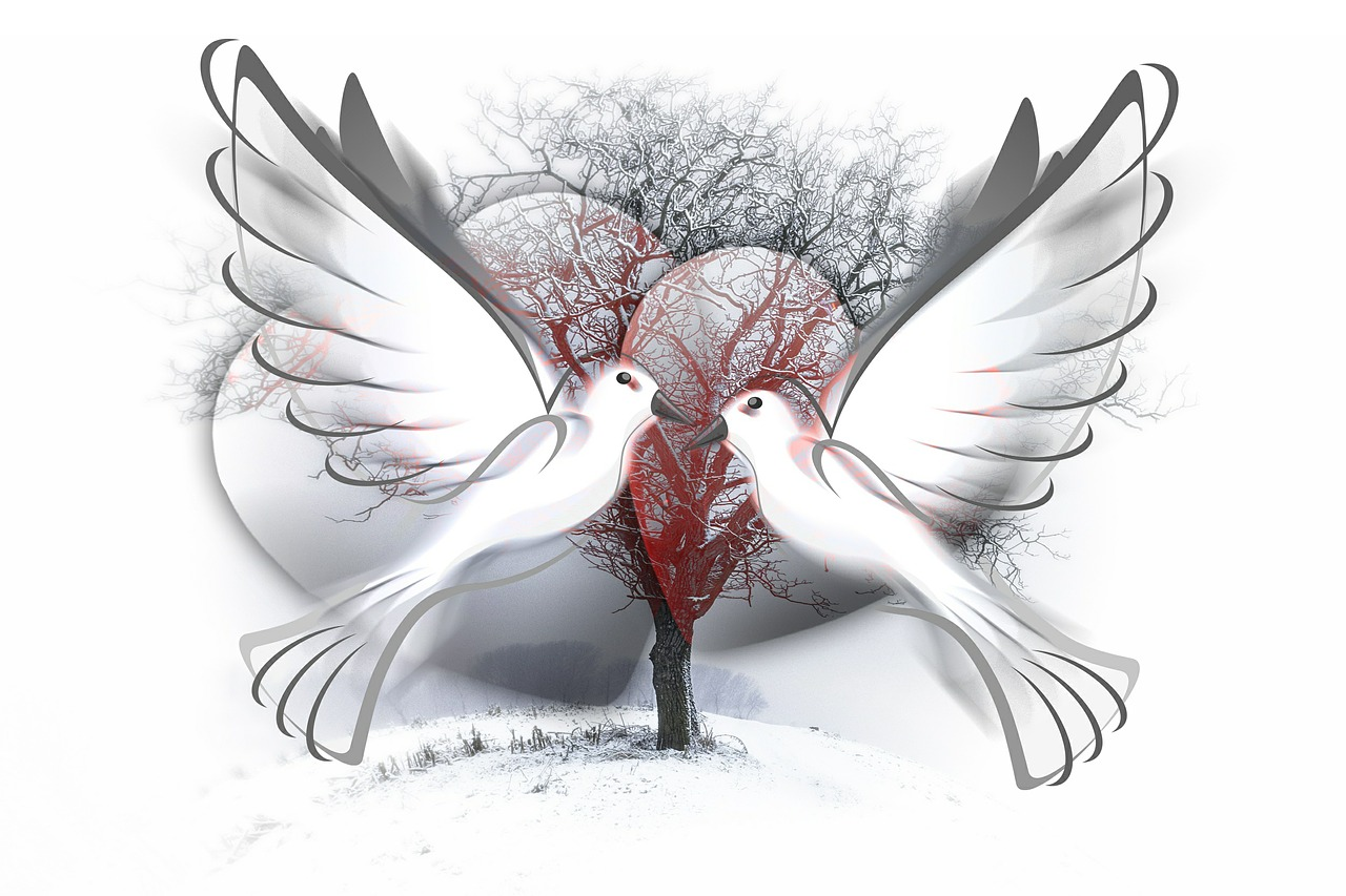Fusion of Oneness, Linda Green Testimonials twin Doves