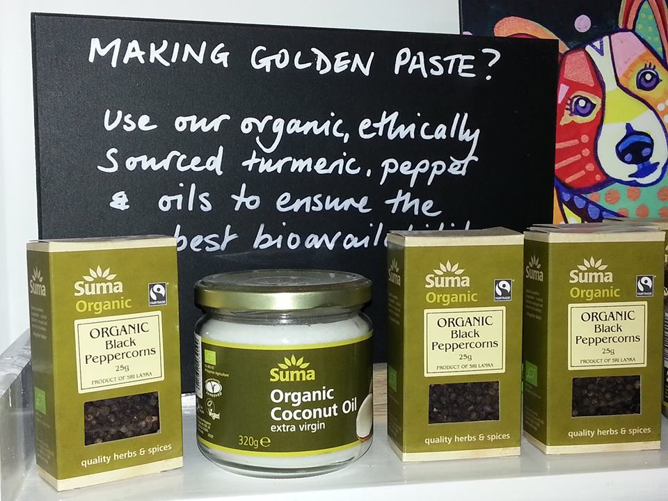 MAKING YOUR OWN GOLDEN PASTE?