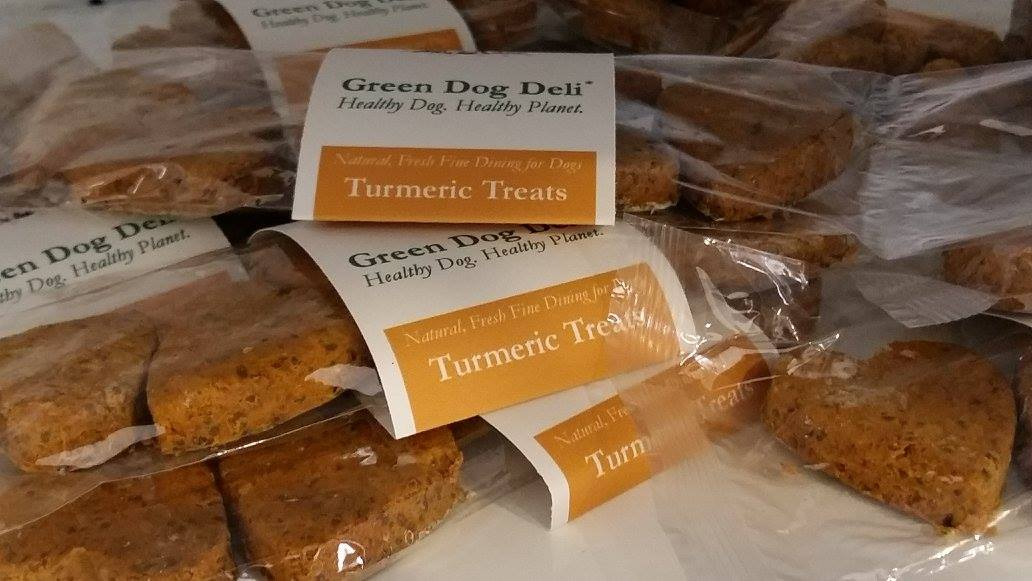 GENTLY DEHYDRATED TURMERIC TREATS