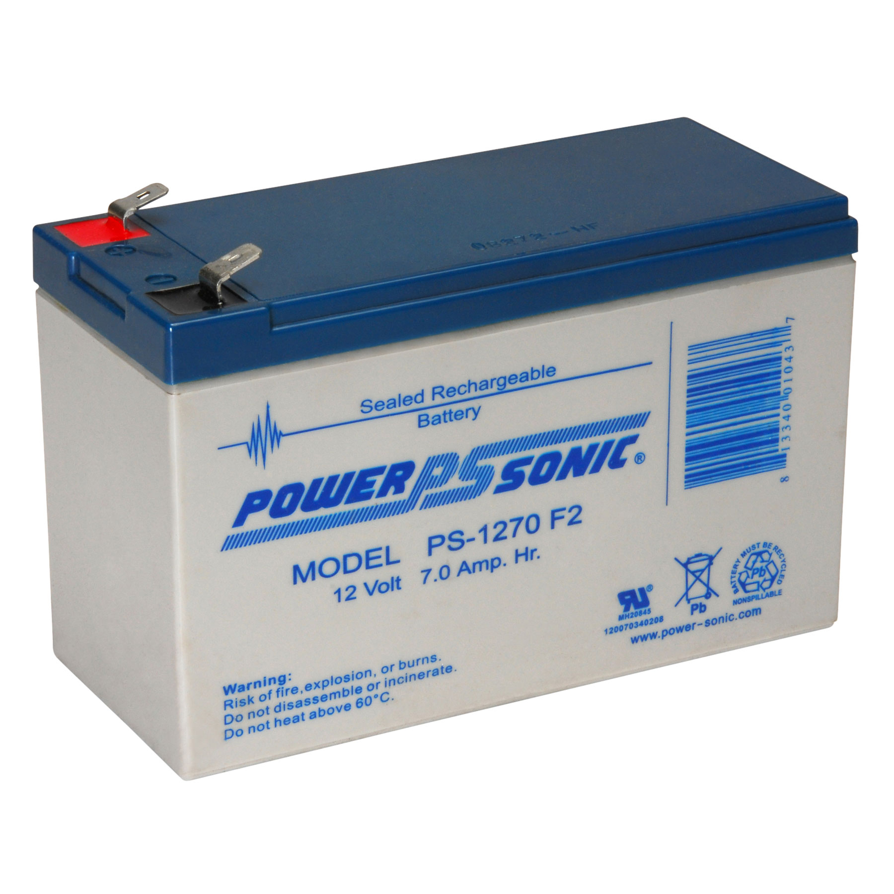 12v 7aH Battery Backup