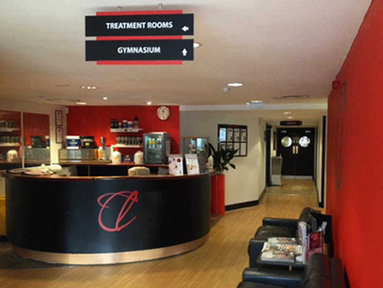 'Club Life' Reception areas
