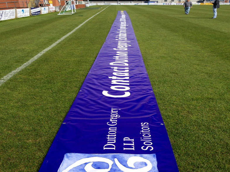24m banner at Eastleigh FC