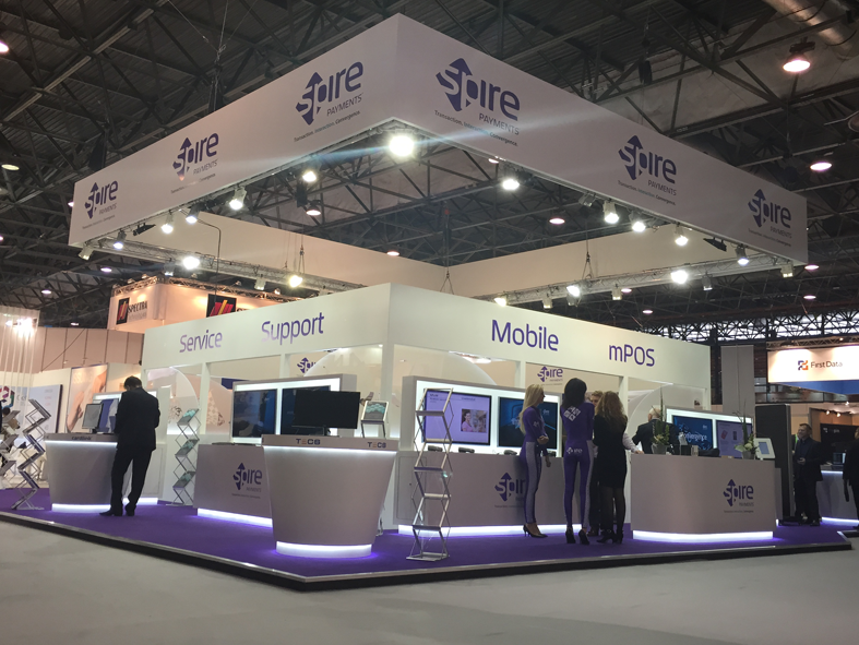 165sqm exhibition stand, Paris