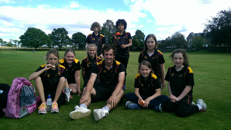 Girls Kwik Cricket Tournament Perth 2014