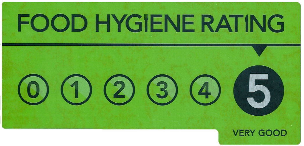 Food Standards Agency rating for Pickle Bear Products