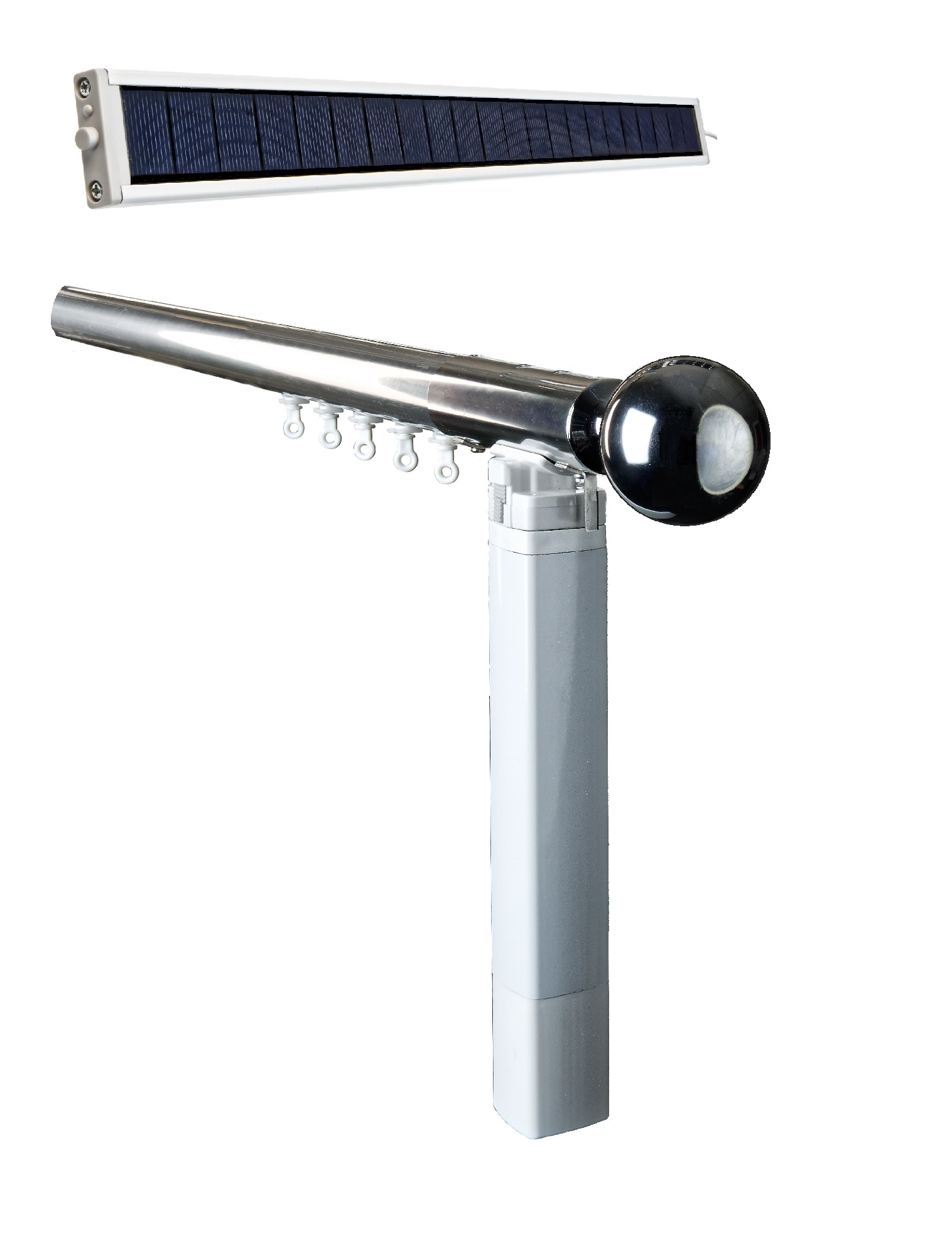 Solar Curtain Pole