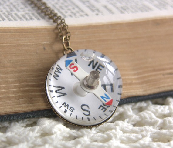 Compass Bauble Necklace