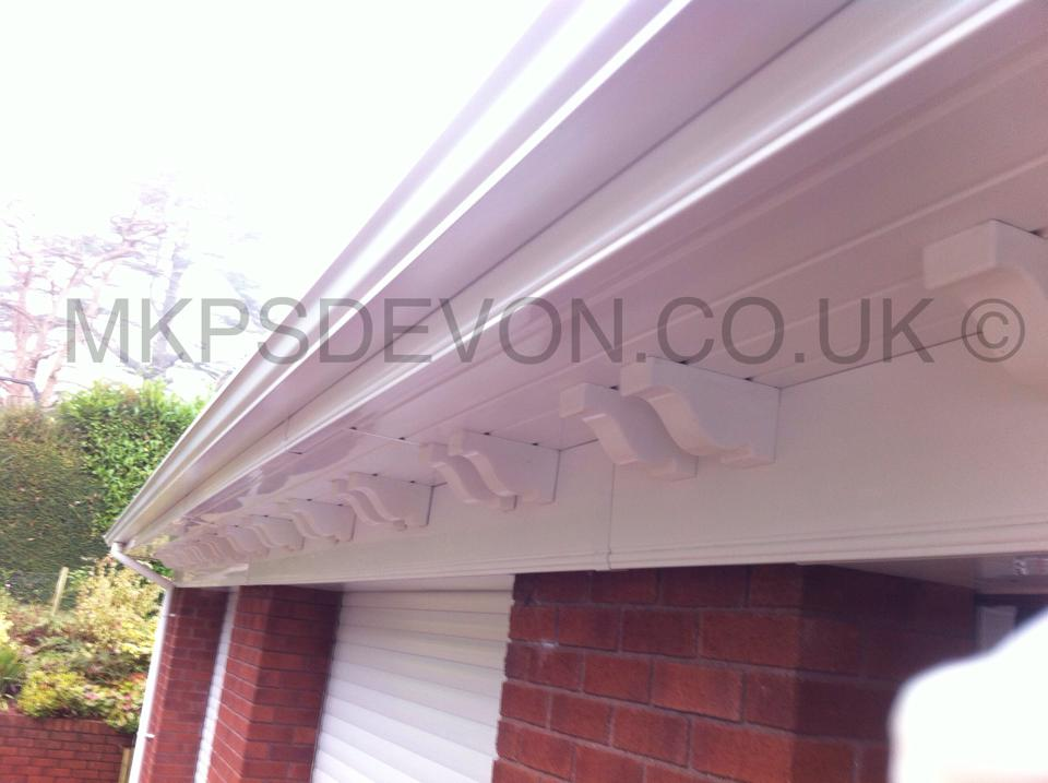 Soffit, fascia and gutter works