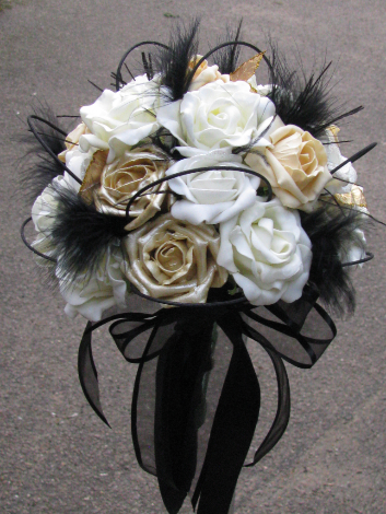 Tied Silk Bouquet