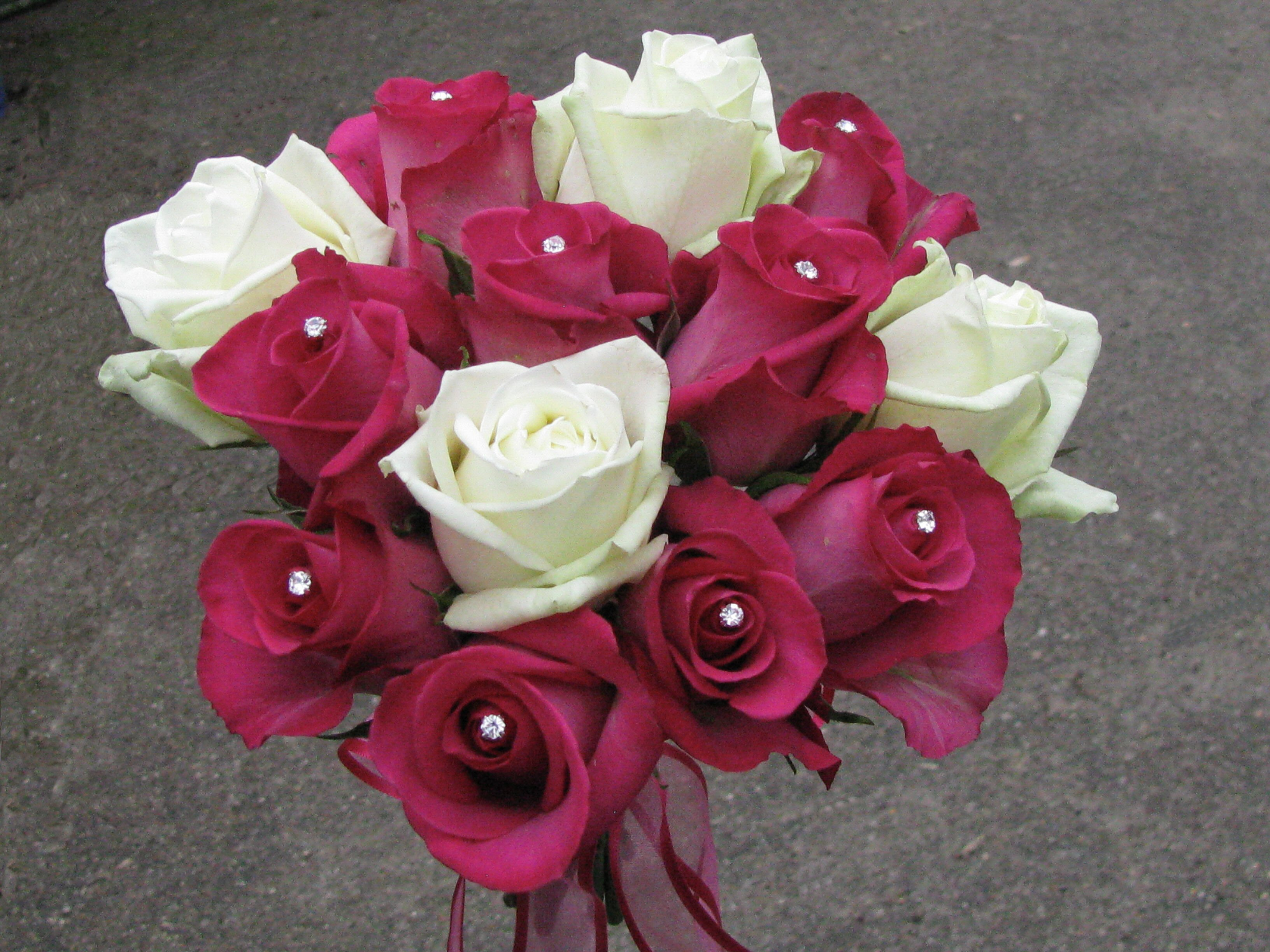 Bridesmaid Tied Bouquet