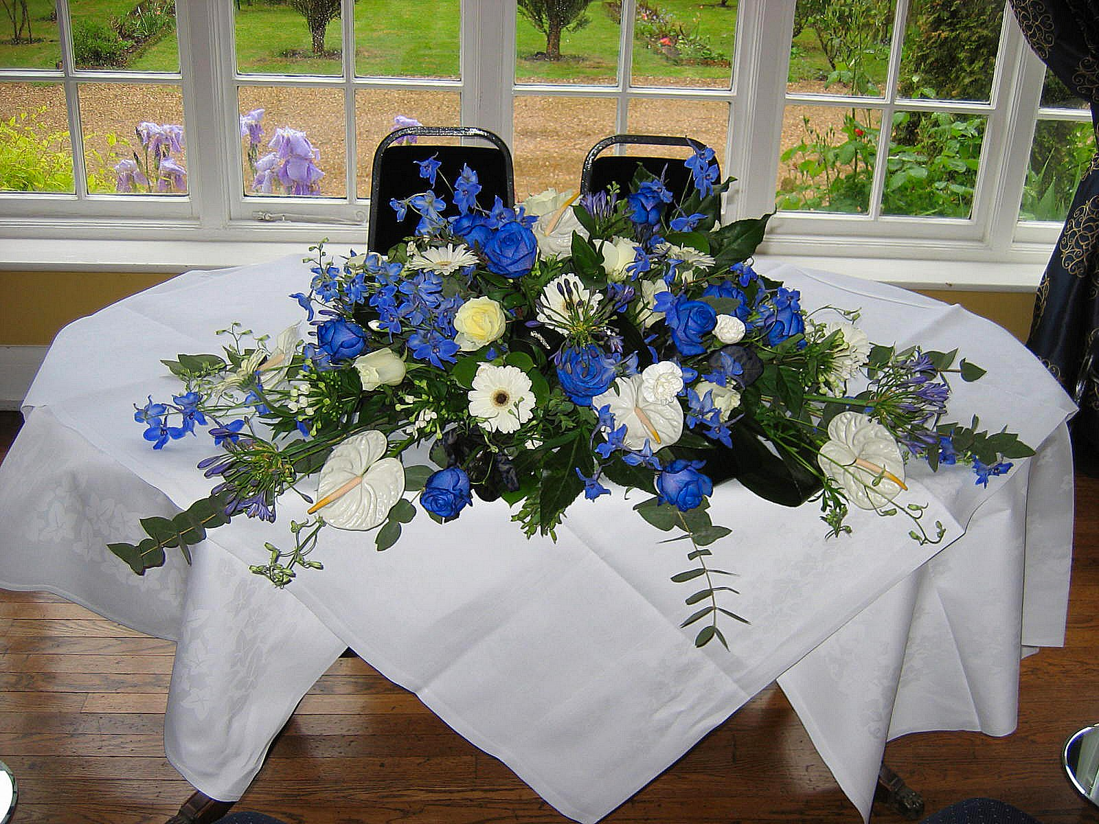Ceremony Table Flowers