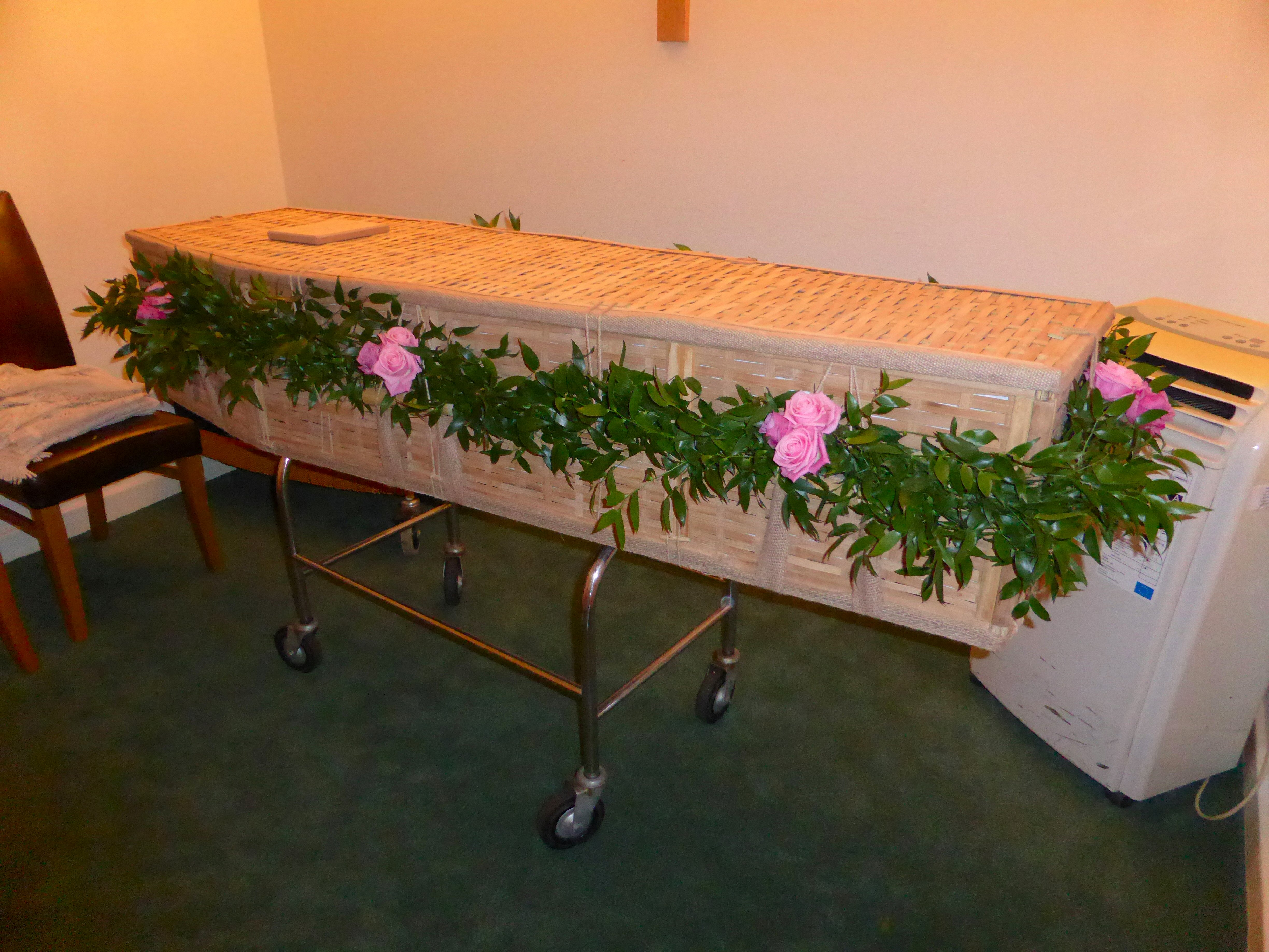 Coffin Garland
