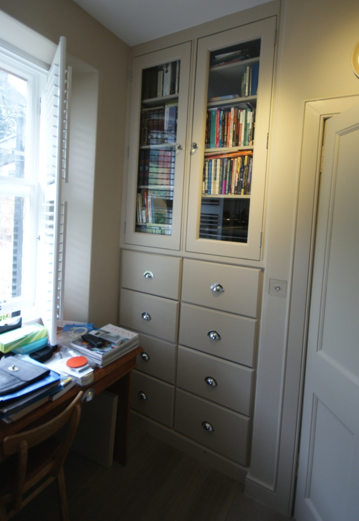 Bookcase & drawer unit