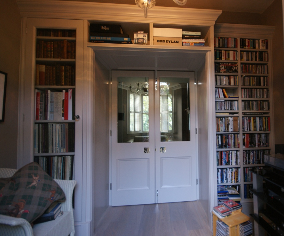 View from small back music room