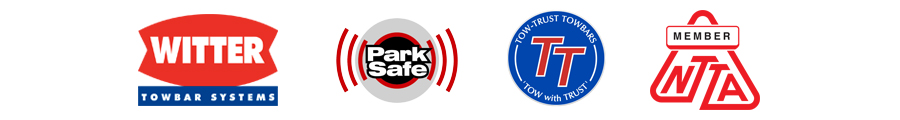 Supplier Logos for Witter, Park Safe, Tow Trust & NTTA