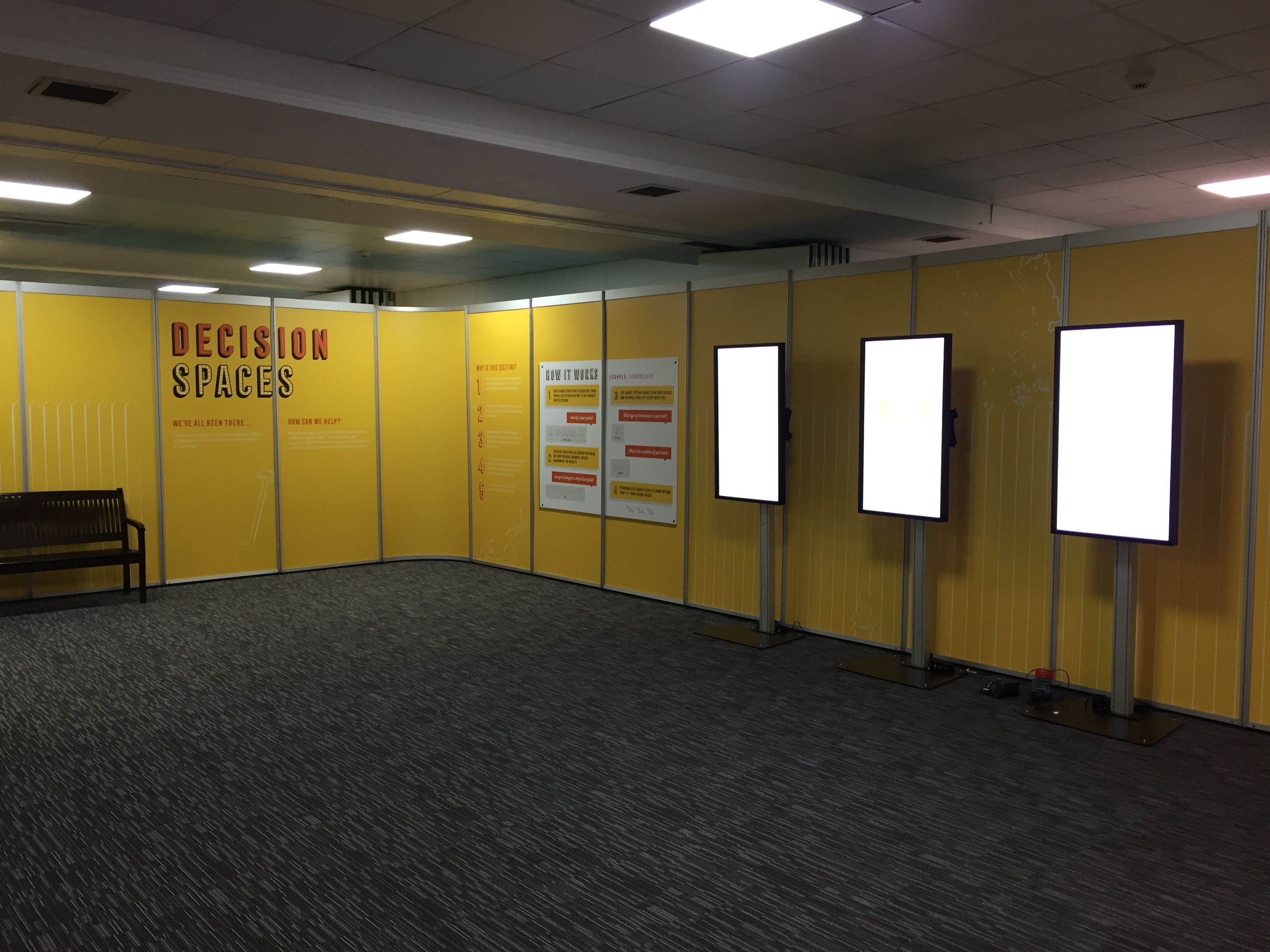 Exhibition Shell Graphics : In system shell scheme graphics